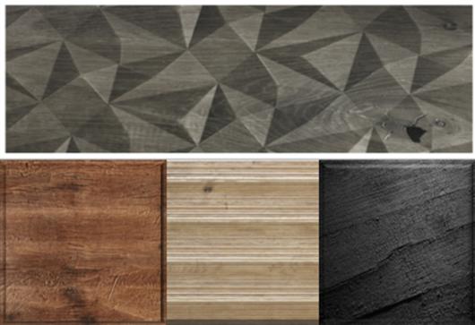 Páneles Holz in Form