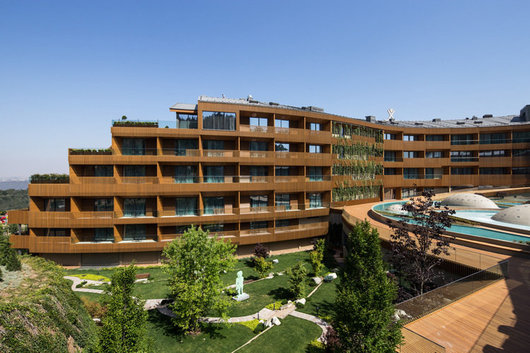 Environmentally-Friendly Wood Façades