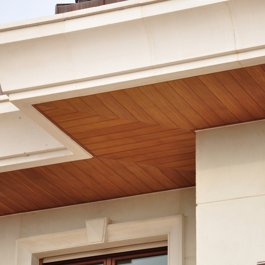 Siding System in Bosphorus Villa / Technowood