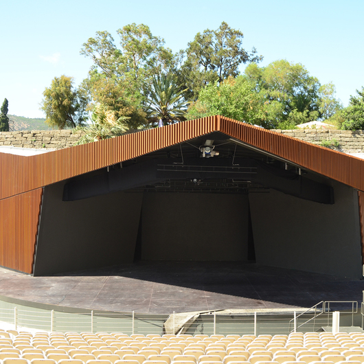 Profile Façade in Bodrum Castle Theater / Technowood