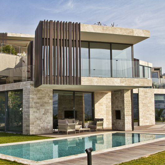 Profile Façade in Adres Yalikavak Villa / Technowood