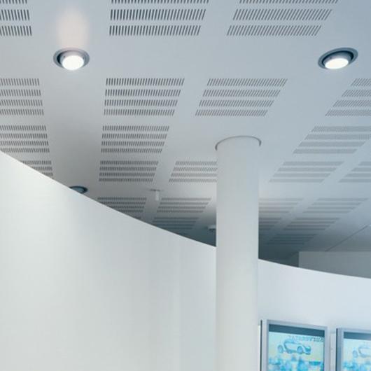 Placa de Yeso - Cleaneo Akustik Slotline