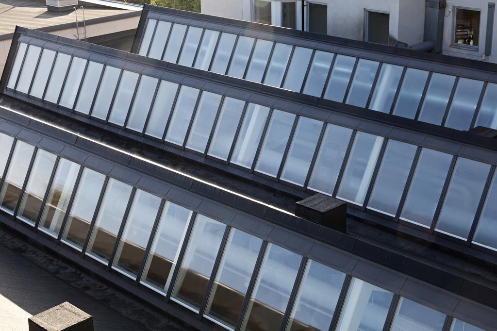 Northlight Skylight in Sågbäcksgymnasiet Sweden