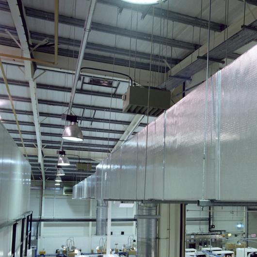 Panel para Ventilación Ducto