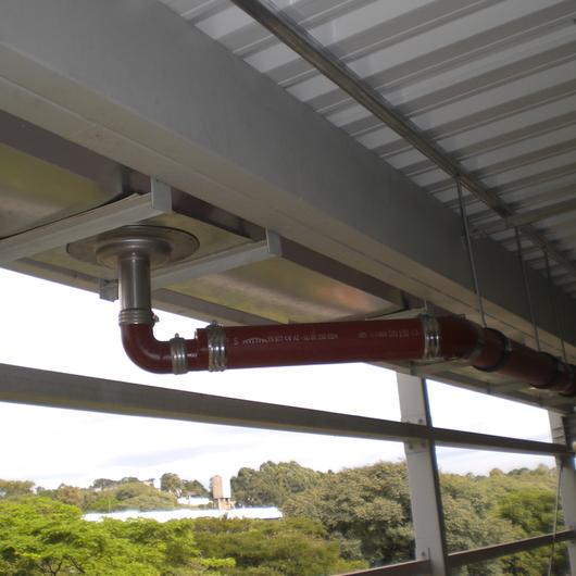 Solução em drenagem pluvial pressurizada – Sistema EPAMS / Saint-Gobain
