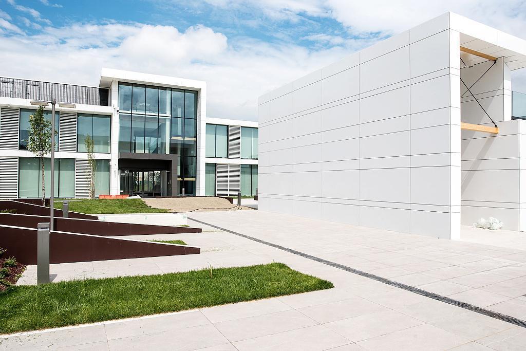 Fiber Cement Cladding Panels in Atrium Complex
