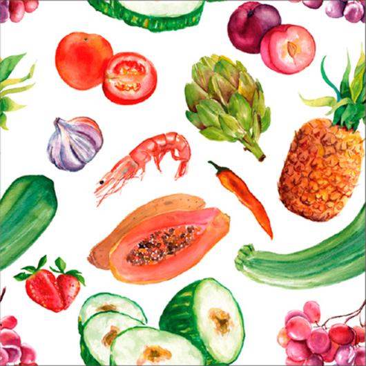Papeles Murales con Diseño - Colección Kitchen