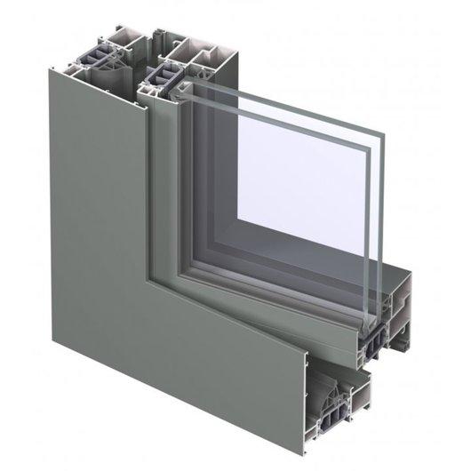 High Insulating Window System - CS77 / Reynaers Aluminium