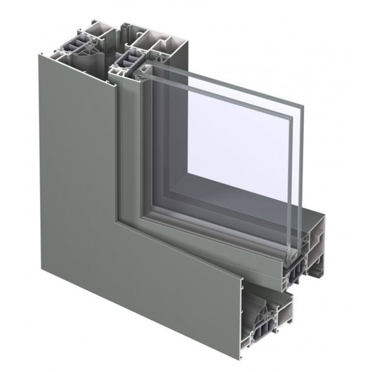 High Insulating Window System - CS77
