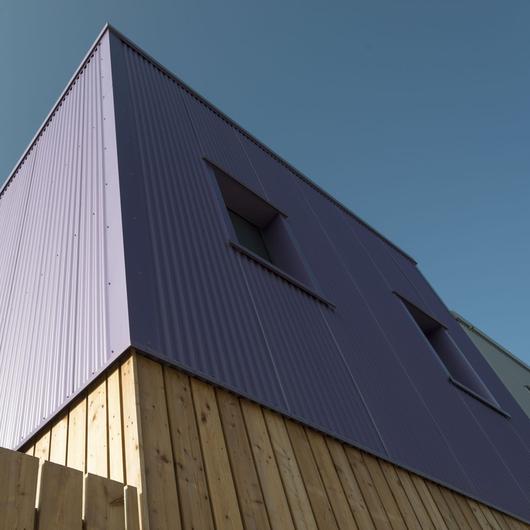 Paneles Aluminio - Revestimiento ALULINE / Brimat