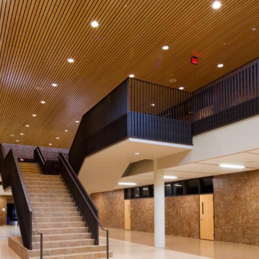Ceiling & Wall System - Linear Solid Wood