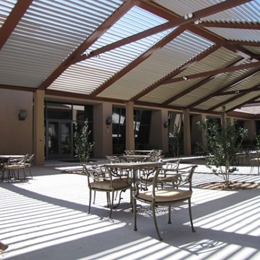 Equinox Commercial Louvered Roofs
