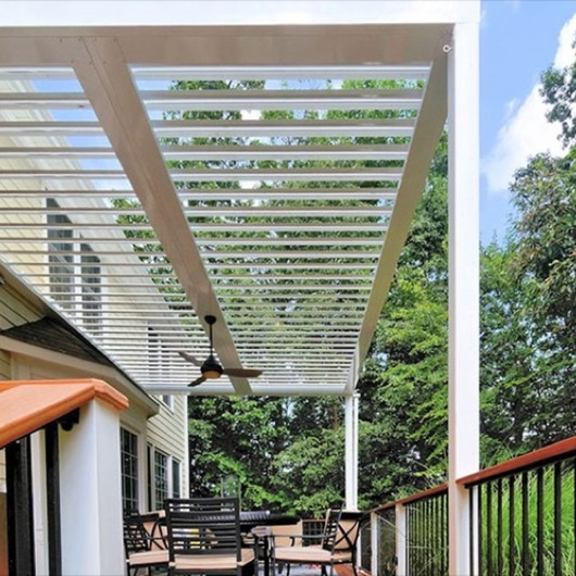 Equinox Residential Louvered Roofs / Omnimax