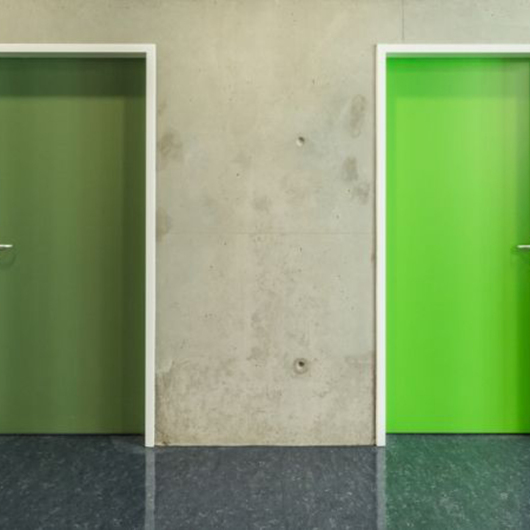 Wood Laminate Doors in Molecular Plant Science Institute / EGGER