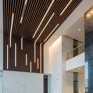 Wood – Solid Wood Grill Ceilings & Walls
