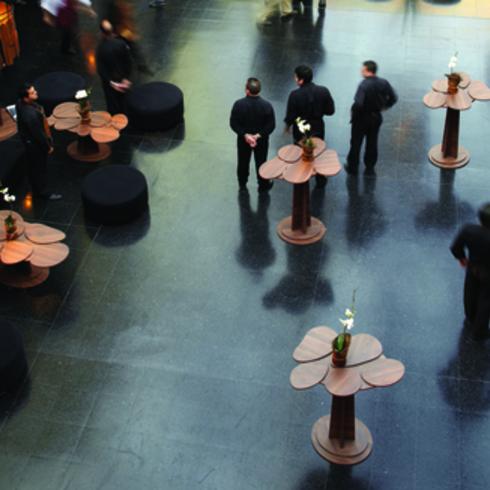 Melaminas en Instalación Museo Nacional de Bellas Artes / Masisa