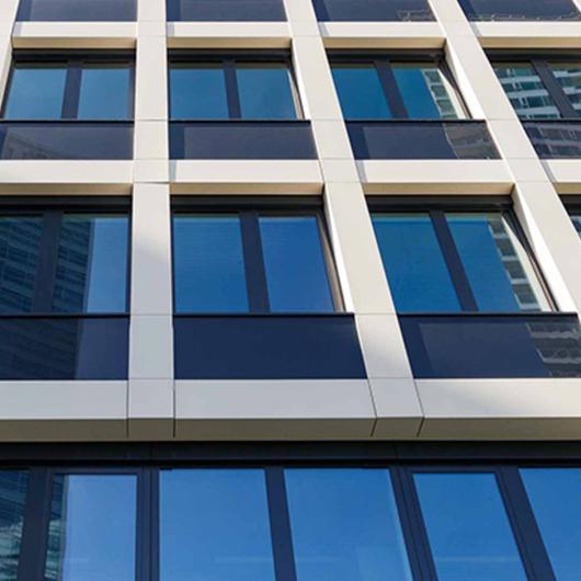 Exterior  Cladding in Shopping Center / Lapitec®