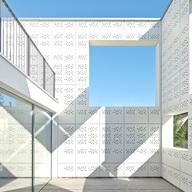 Fiber Cement Cladding Panels in Patio Building