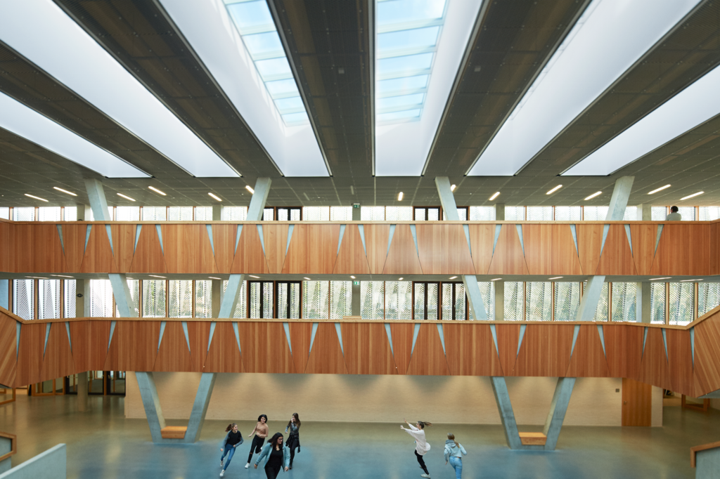 Skylights - Hessenwald Co-operative School