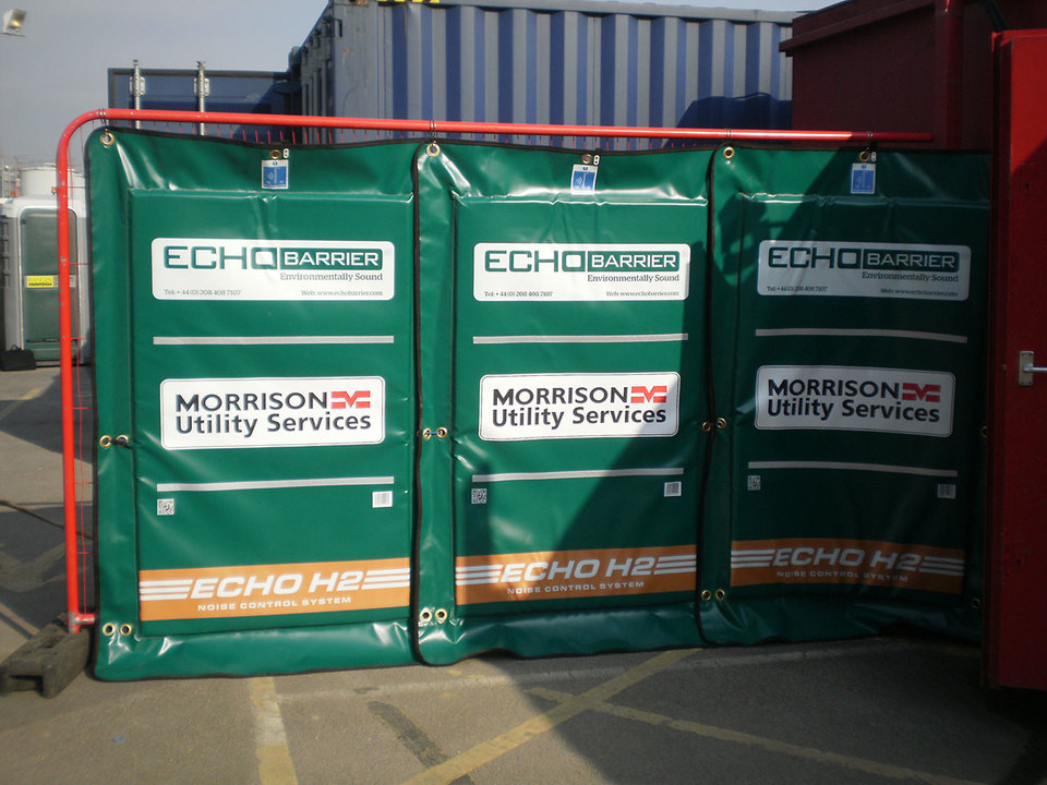 Echo Barrier Temporary Fencing