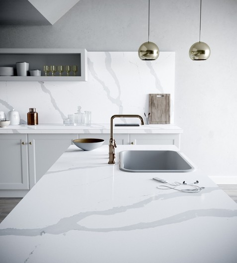 Silestone ® Bianco Calacatta