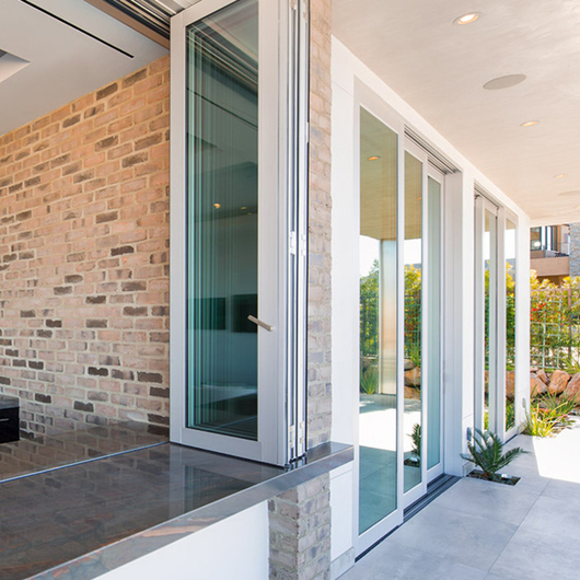 Series 7950 Bi-Fold Door - Performance Line / Western Window Systems
