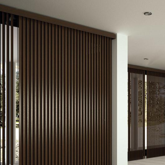 Cortinas y persianas técnicas para interiores - Saxun / Metaldesign