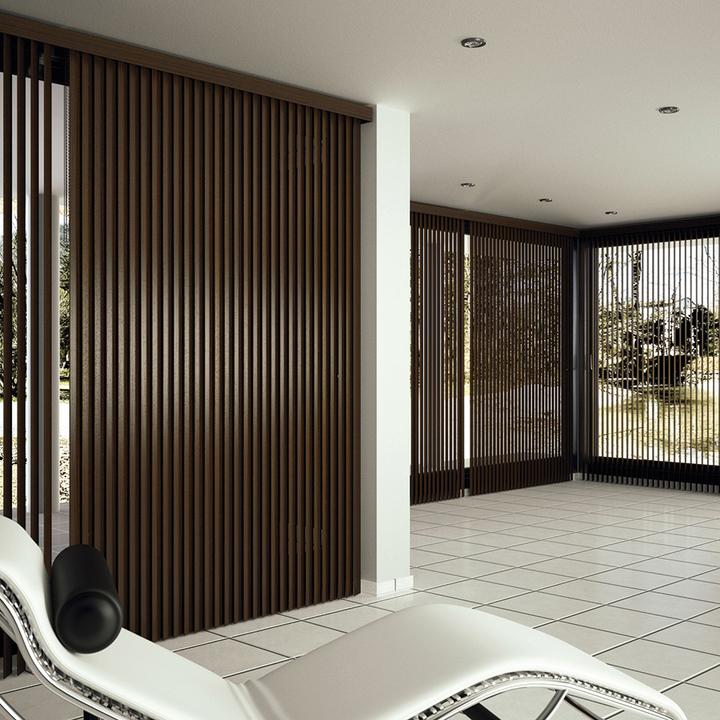 Cortinas y persianas técnicas para interiores - Saxun