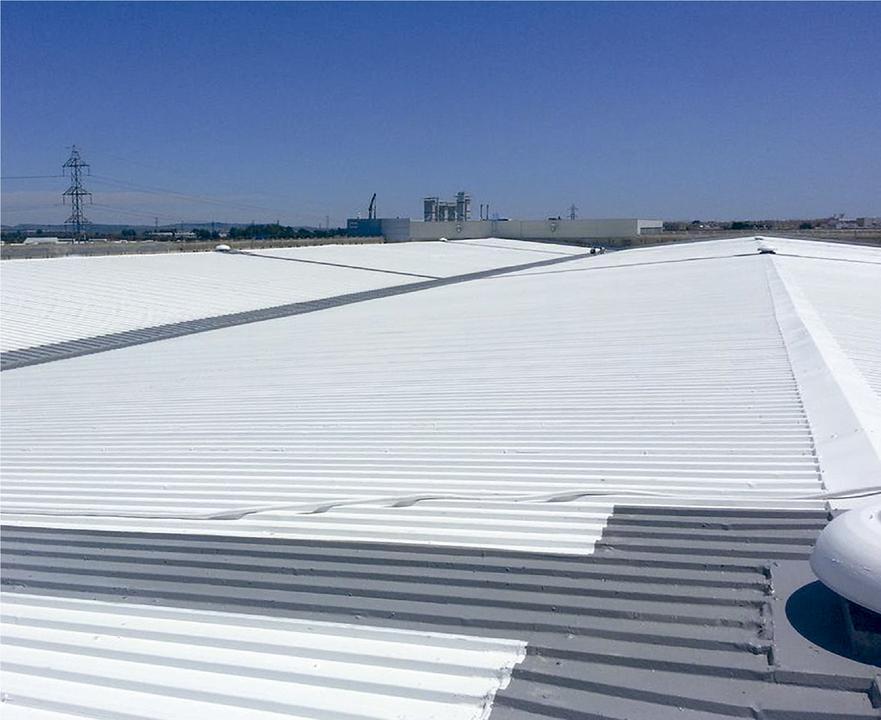 Cubierta Impermeabilizante - Fábrica de Aviones en Cádiz