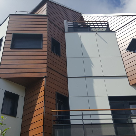 Rainscreen Cladding System - Scaleo