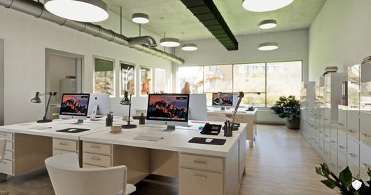 Office Interior Menu | Enscape