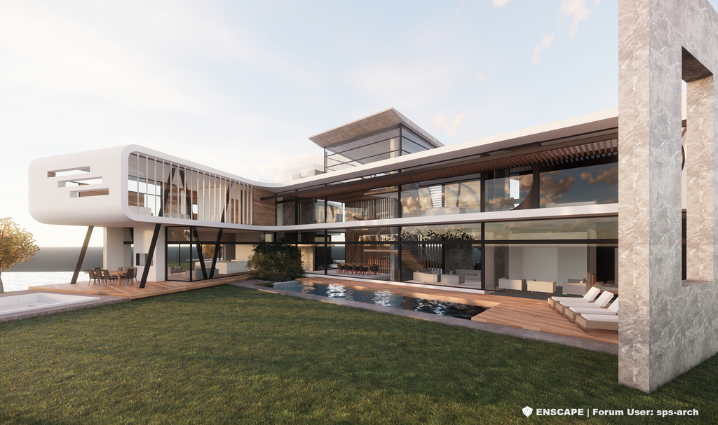 3D Rendering - Video Creation from Enscape