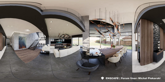 Interior Panorama | Enscape