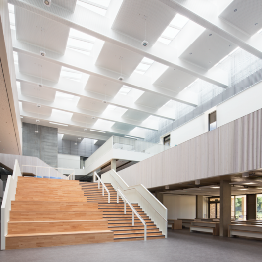 Skylights - Trumpington Community College / VELUX Commercial