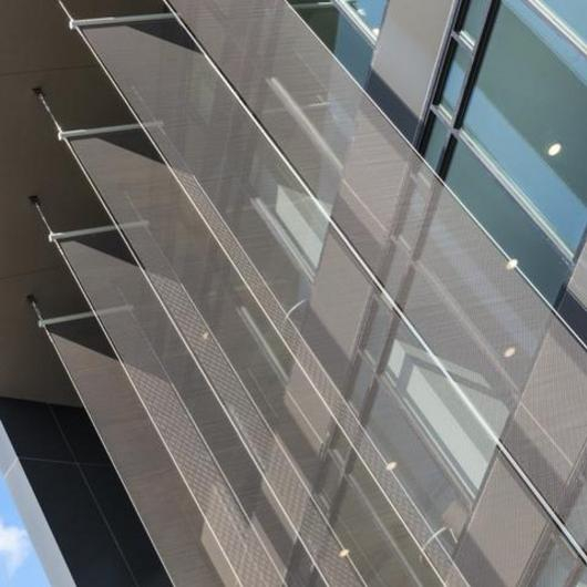 Fabricoil® Solar Shading in Tarleton University / Cascade Architectural