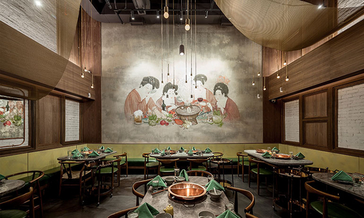 Fabricoil™ | Tang hotpot Resturant | Cascade Architectural