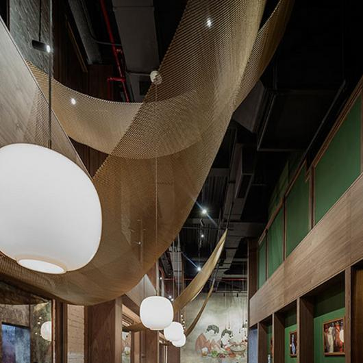 Fabricoil® in Tang Hotpot Restaurant / Cascade Architectural