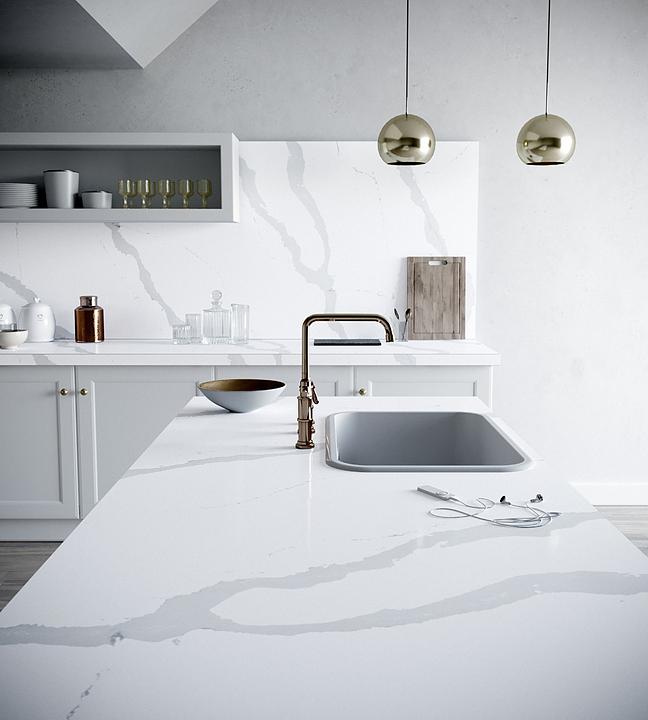Revestimientos Silestone® y Dekton®  en Cocinas Estilo Nórdico
