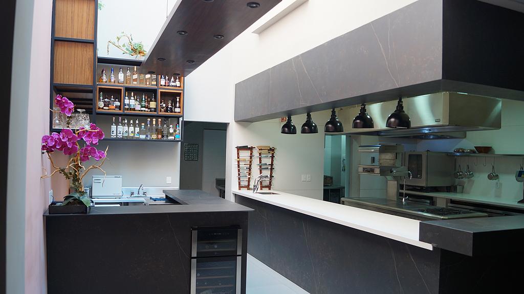 Revestimientos Silestone® y Dekton® en Lorea Restaurante
