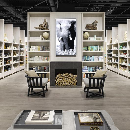 EGGER Laminates in Bookstore / EGGER