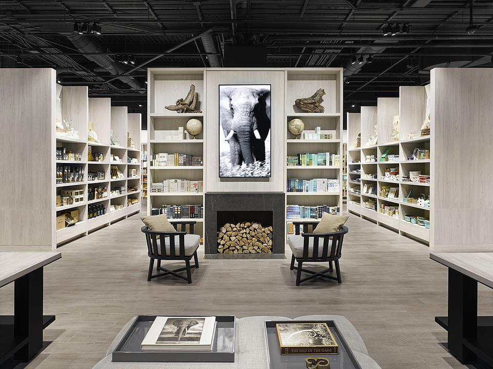 EGGER Laminates in Bookstore