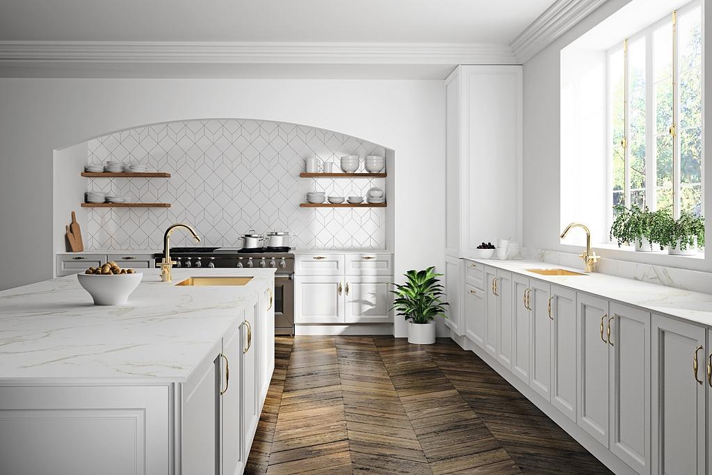 Revestimentos Silestone® e Dekton® para decoração de cozinhas sofisticadas e de luxo