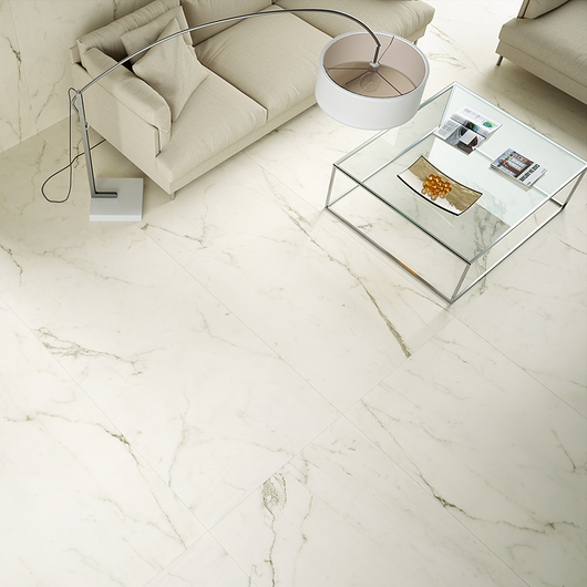 Porcelain Tiles - Coverlam Estatuario / Grespania