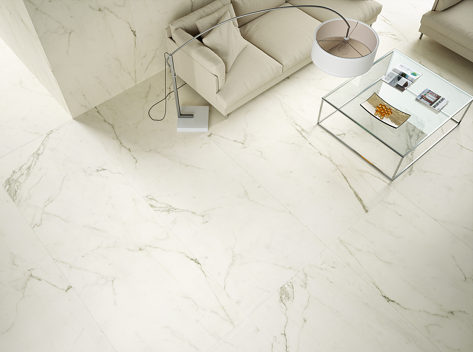 Porcelain Tiles - Coverlam Estatuario