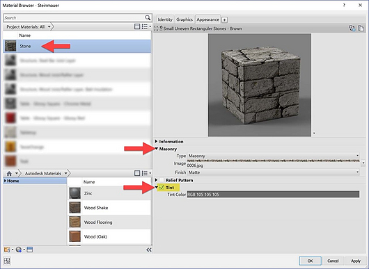 Revit Materials: Stone & Masonry | Enscape Best Practices