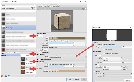 Revit Materials: Stone & Masonry from Enscape