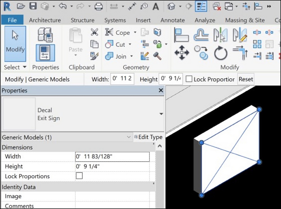 Gallery of How to Use Revit Decals - 2