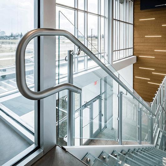 Interna Rail® KLEAR Aluminum Railing