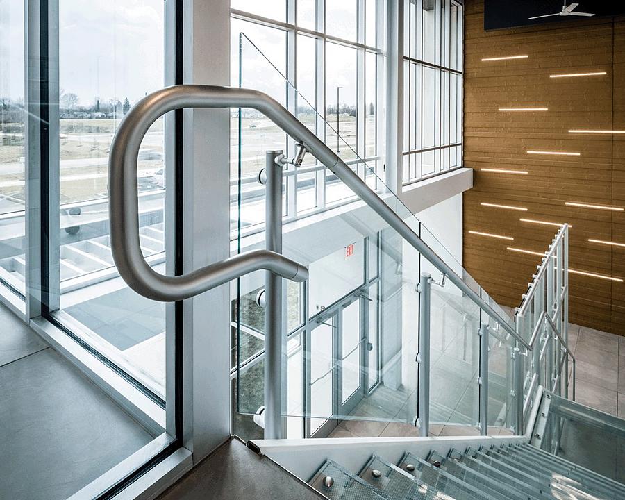 Interna-Rail® KLEAR Aluminum Railing