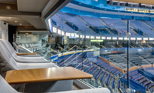 Scottrade Center |Structural Glass Railing | Hollaender